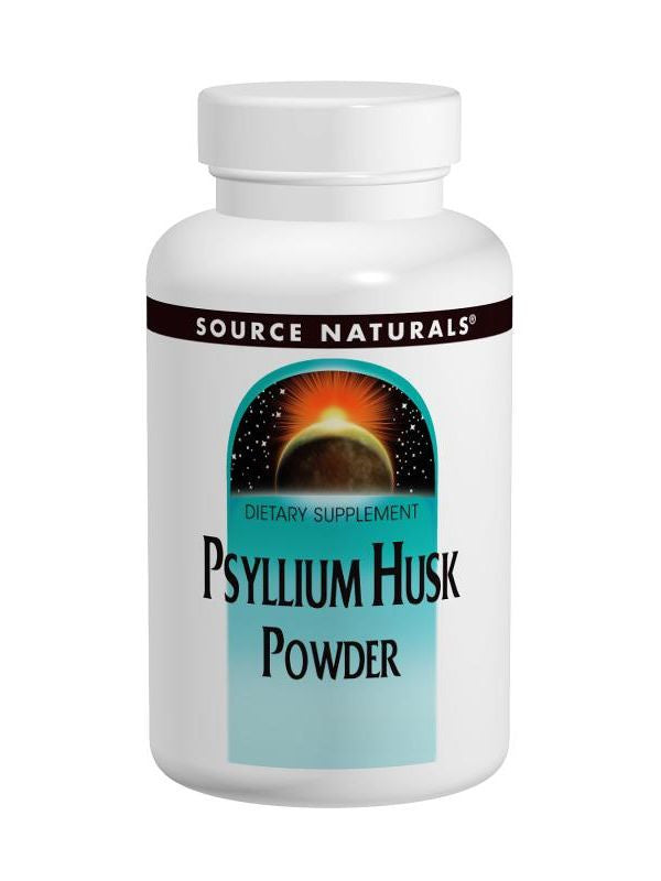 Source Naturals, Psyllium Husk powder, 12 oz