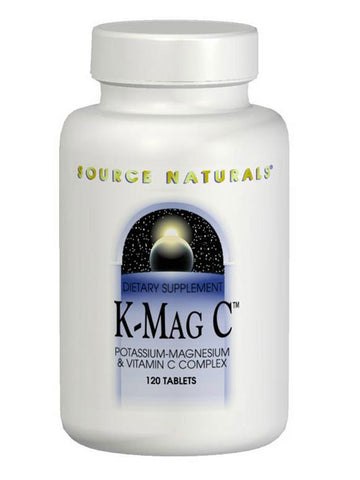 Source Naturals, K-Mag C Potass/Mag/Vitamin C Complex, 120 ct