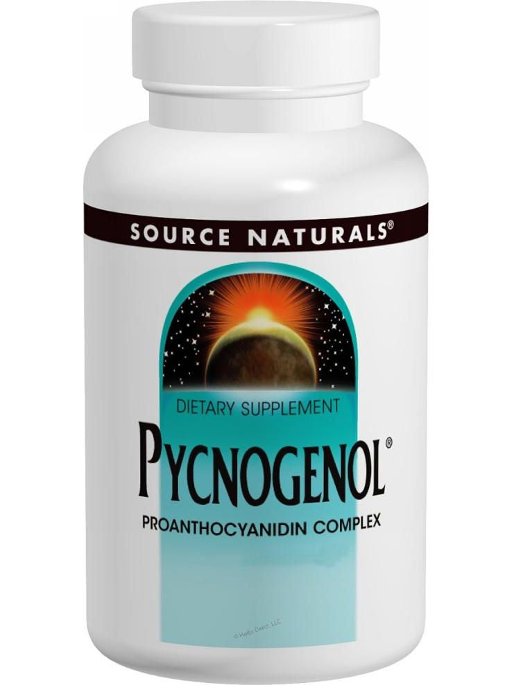 Source Naturals, Pycnogenol, 25mg, 60 ct