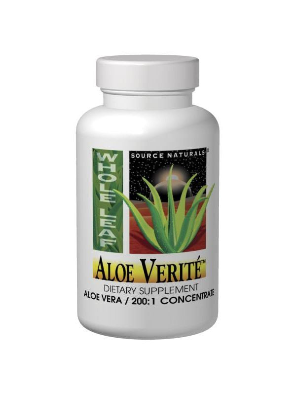 Source Naturals, Aloe Verite Raspberry with Stevia, 1 LT