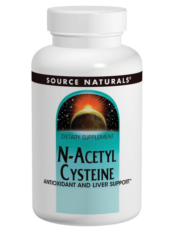 Source Naturals, N-Acetyl Cysteine, 600mg, 60 ct