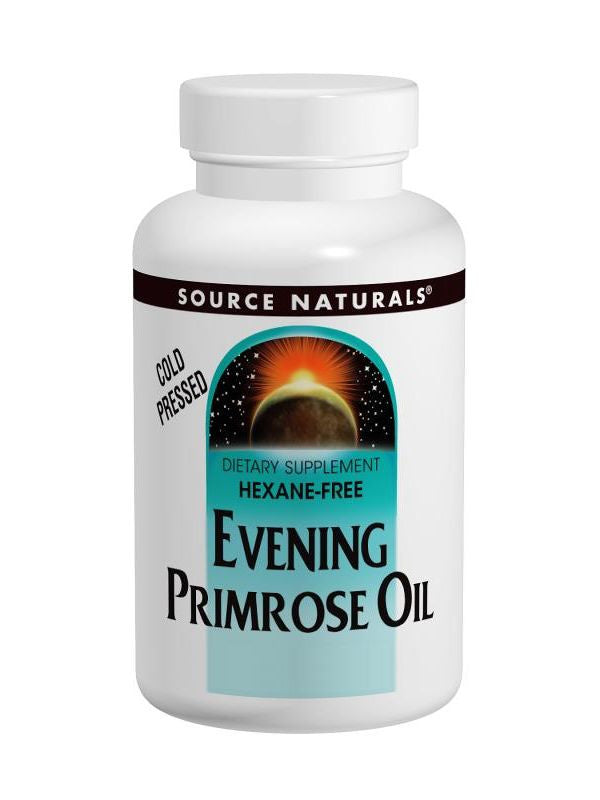 Source Naturals, Evening Primrose Oil, 500mg (50mg GLA), 180 softgels