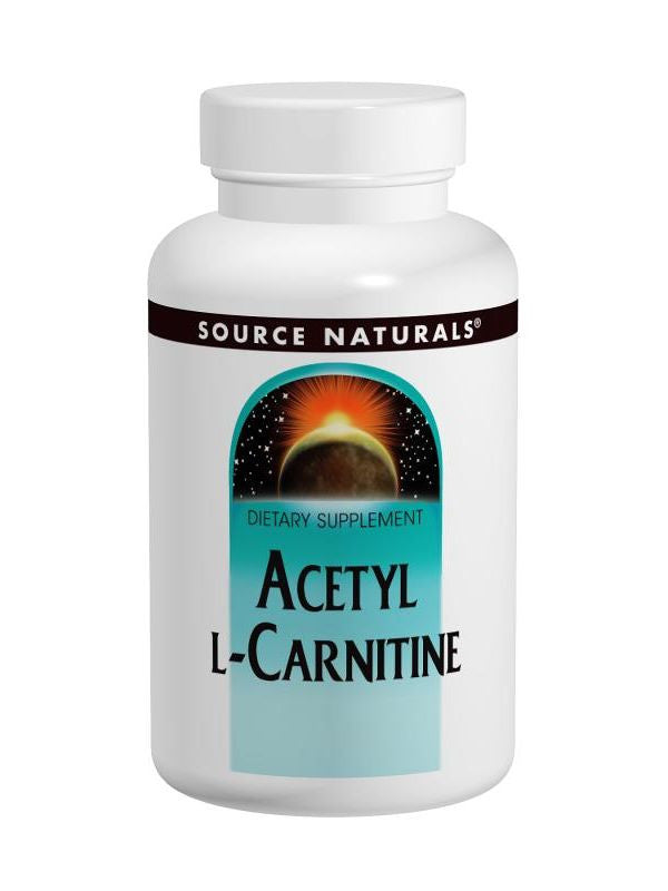 Source Naturals, Acetyl L-Carnitine, 250mg, 60 ct