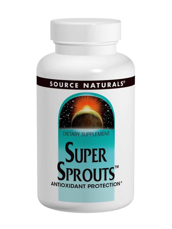 Source Naturals, Super Sprouts, 900mg Antioxidant Catalyst, 60 ct