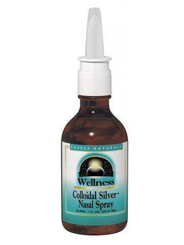 Source Naturals, Wellness Colloidal Silver Nasal Spray 10 ppm, 1 oz