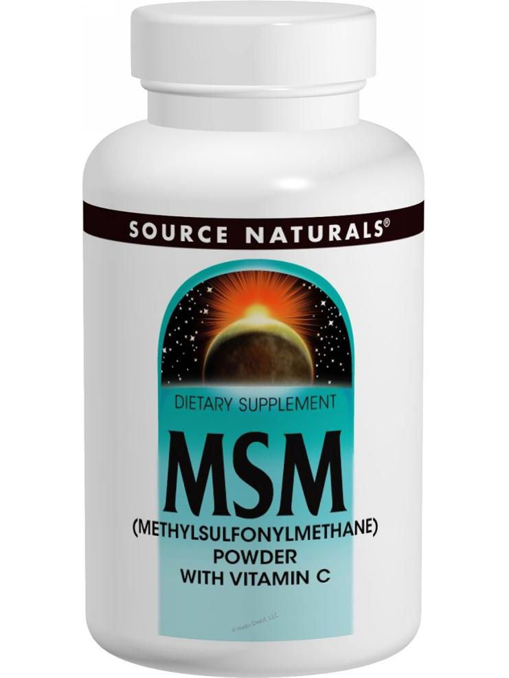 Source Naturals, MSM Methylsulfonylmethane, 750mg, 60 ct
