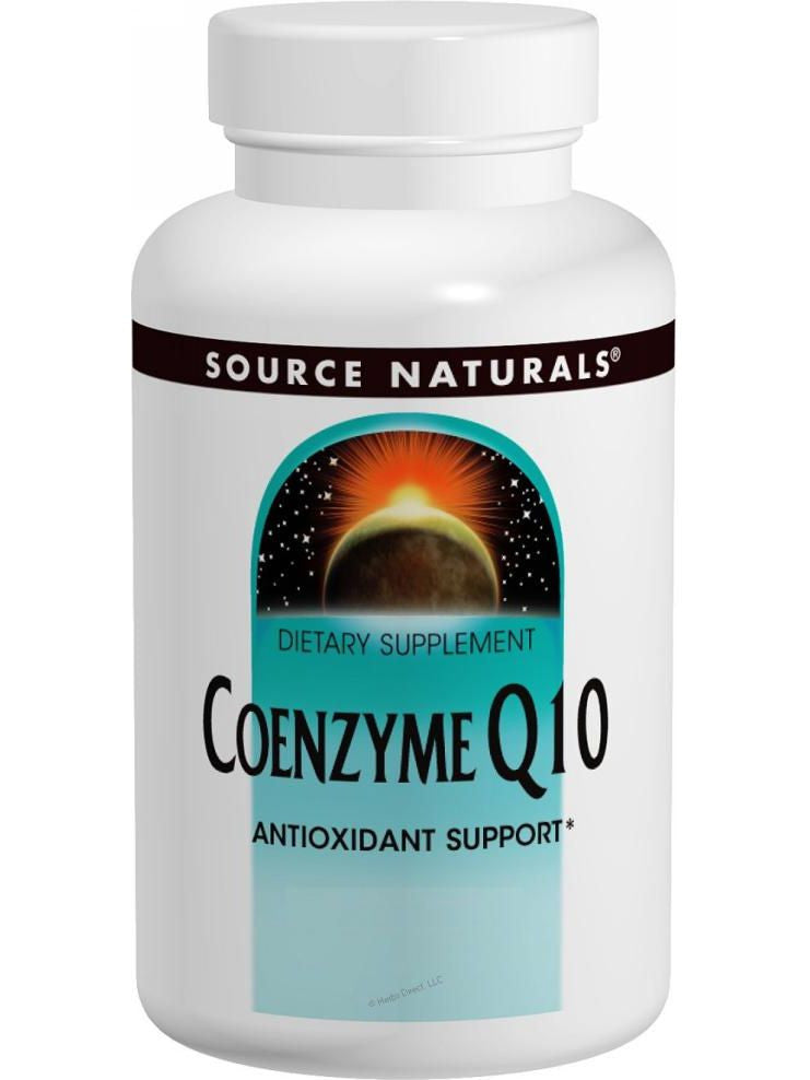 Source Naturals, Coenzyme Q10, 30mg, 120 softgels