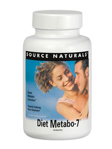 Source Naturals, Diet Metabo-7, 90 ct