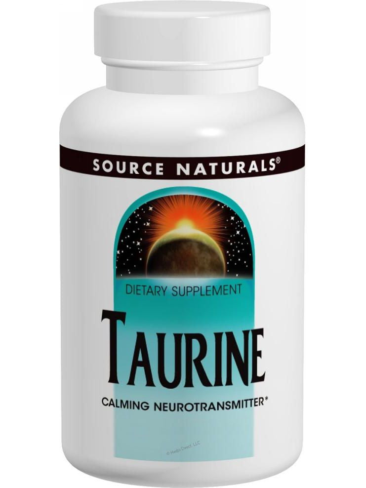 Source Naturals, Taurine, 500mg, 120 ct