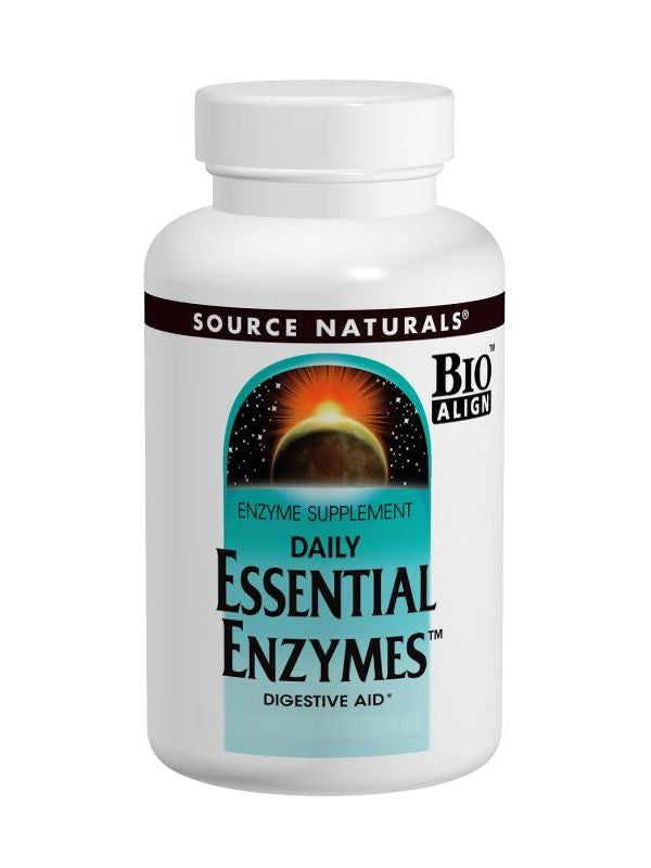 Source Naturals, Essential Enzymes, 500mg Vegetarian Bio-Aligned, 240 ct