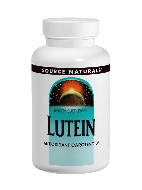 Source Naturals, Lutein, 20mg, 30 ct