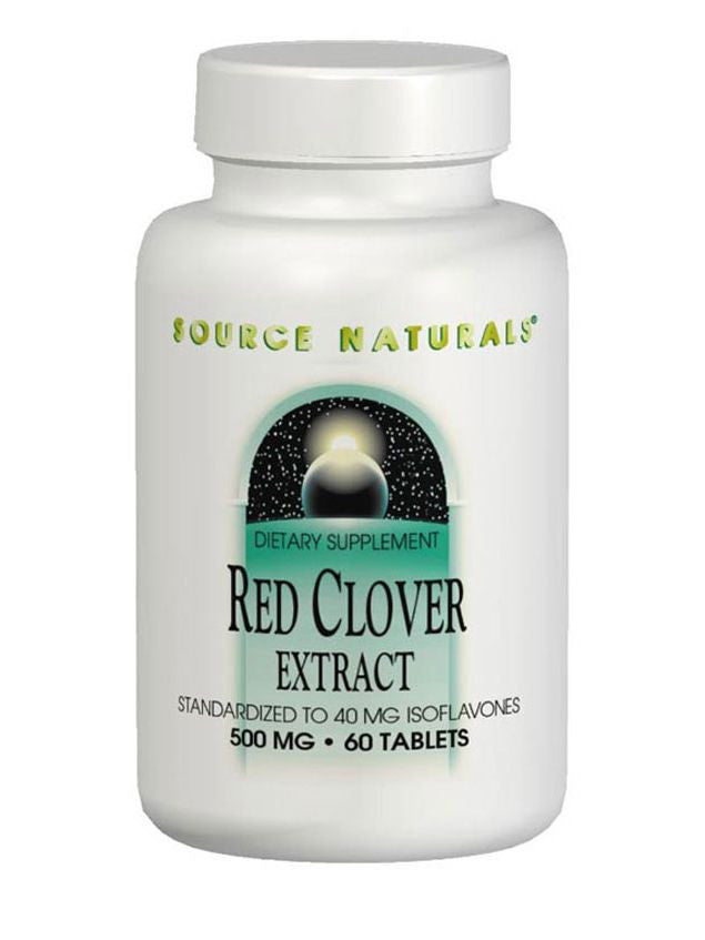 Source Naturals, Red Clover Extract, 500mg, 30 ct