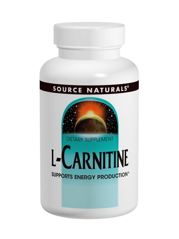 Source Naturals, L-Carnitine (tartrate), 500mg, 60 ct