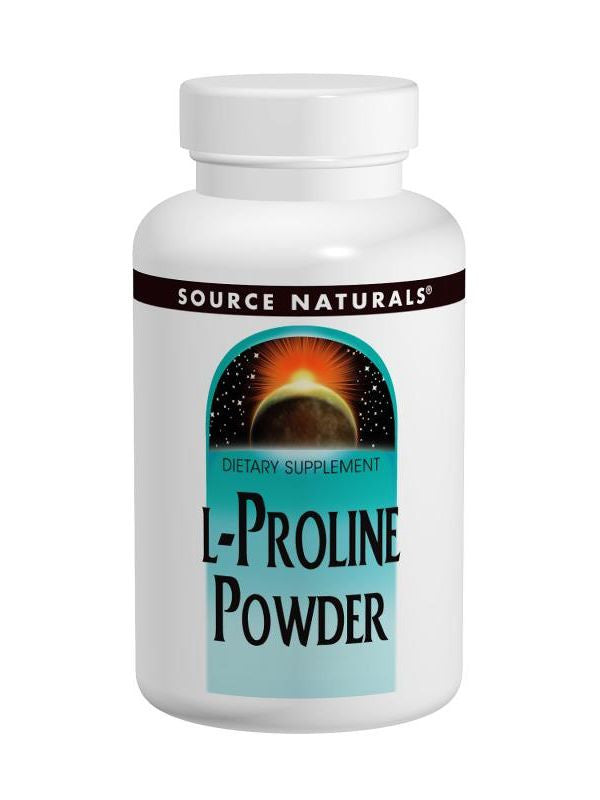 Source Naturals, L-Proline powder, 4 oz