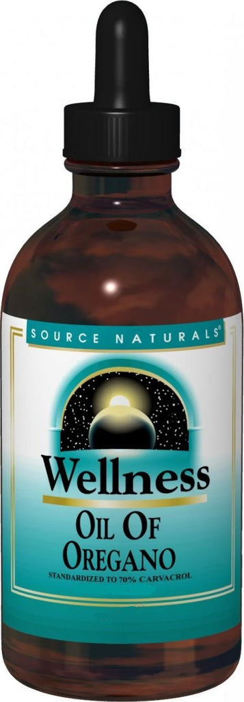 Source Naturals, Wellness Oil of Oregano 70% Carvacrol, 0.5 oz