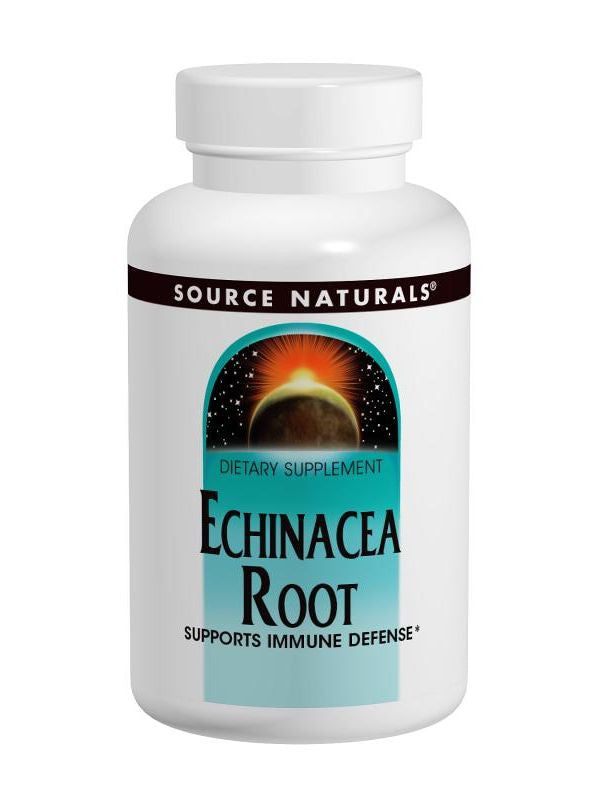 Source Naturals, Echinacea Root, 500mg, 100 ct