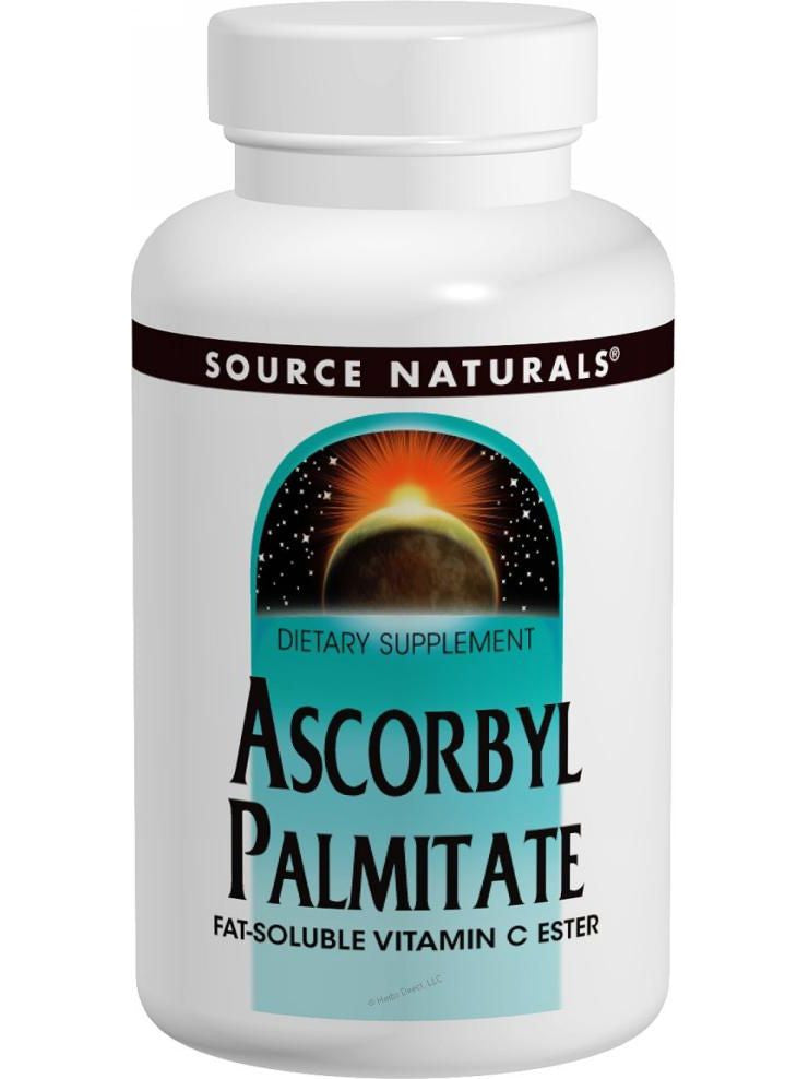 Source Naturals, Ascorbyl Palmitate, 500mg, 180 ct