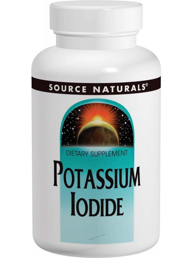 Source Naturals, Potassium Iodide, 32.5mg, 60 ct