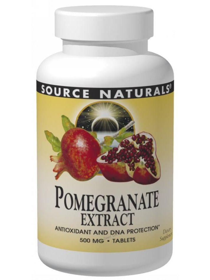 Source Naturals, Pomegranate Extract, 500mg, 120 ct
