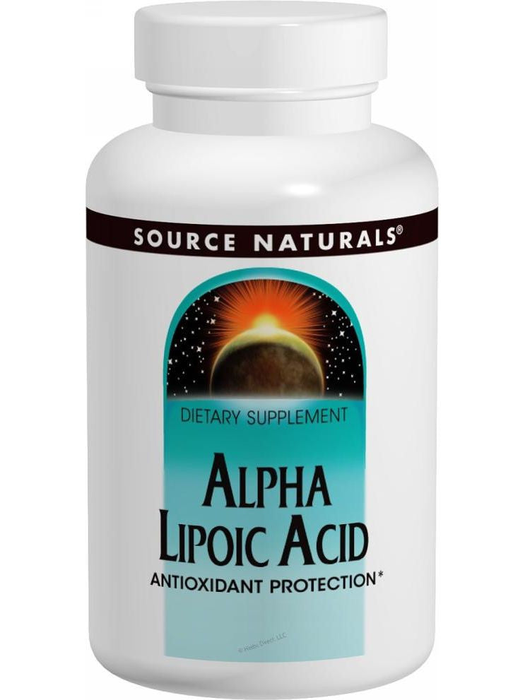 Source Naturals, Alpha-Lipoic Acid, 100mg, 60 ct