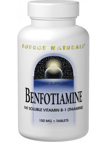 Source Naturals, Benfotiamine, 150mg, 60 ct