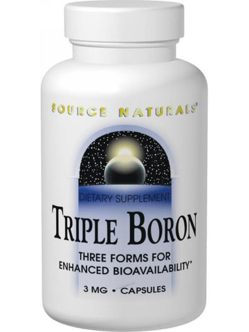Source Naturals, Triple Boron, 200 ct