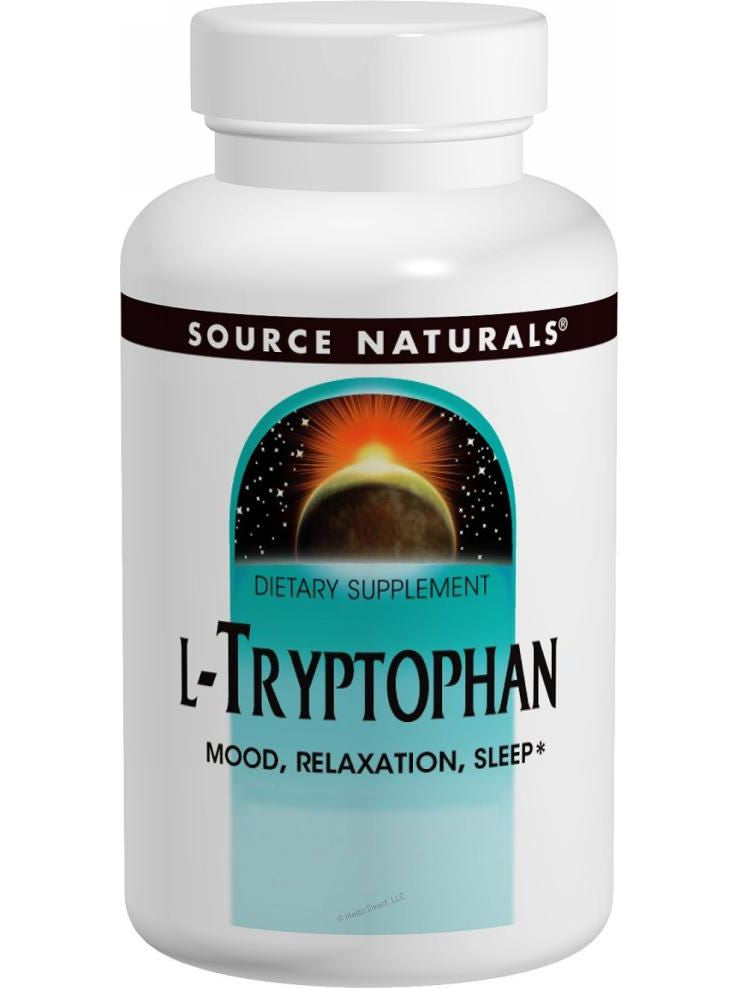 Source Naturals, L-Tryptophan, 500mg, 120 ct