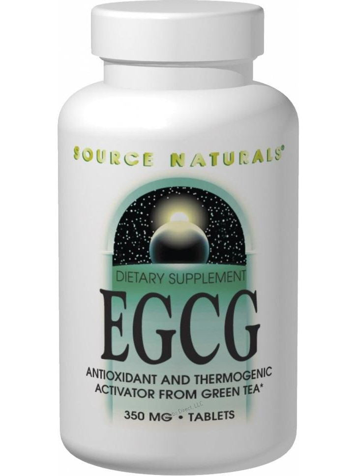 Source Naturals, EGCG, 350mg from Green Tea Ext 500mg, 60 ct