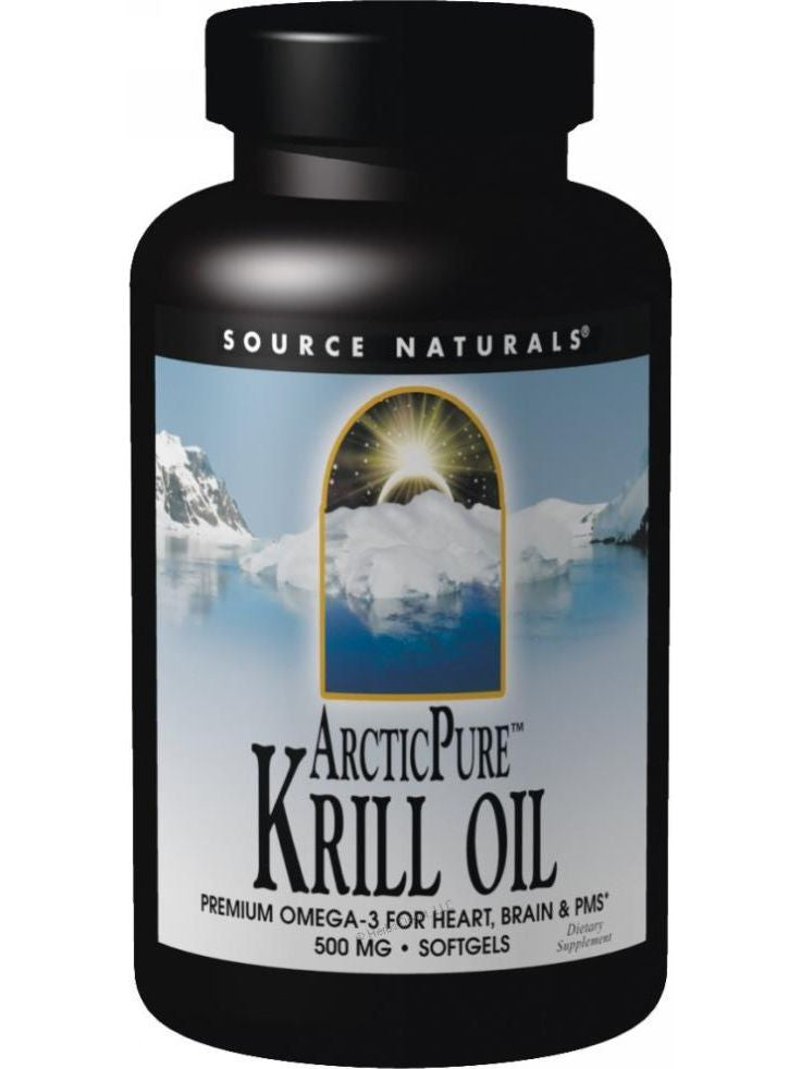 Source Naturals, ArcticPure Krill Oil, 500mg, 120 softgels