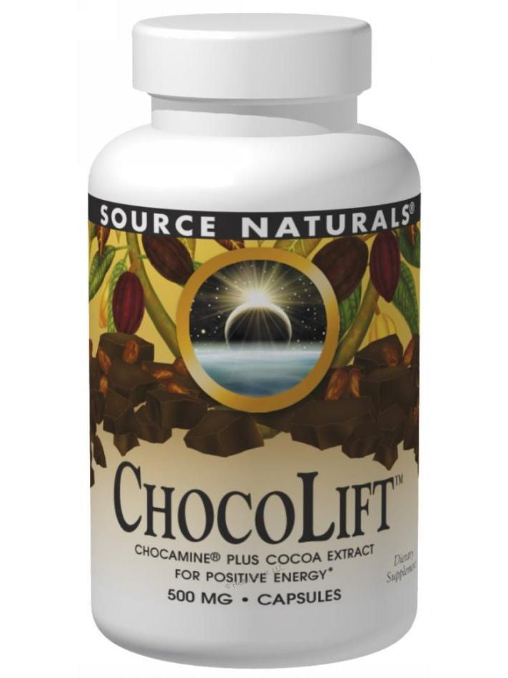 Source Naturals, ChocoLift, 500mg, 60 ct