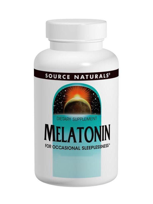 Source Naturals, Melatonin, 1mg, 100 ct