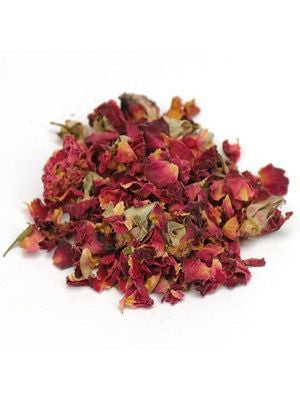 Starwest Botanicals, Rose Buds and Petals, 1 lb Organic Whole Herb