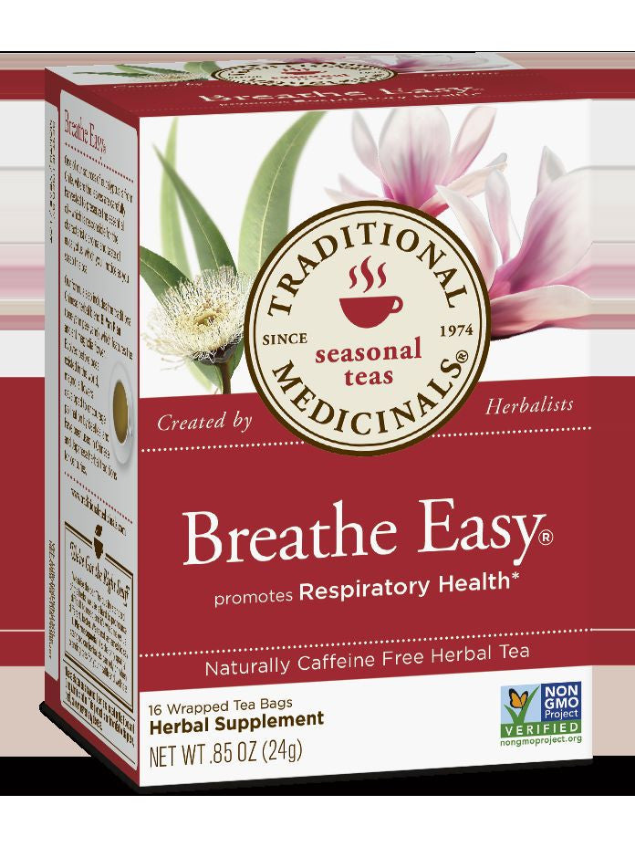 Traditional Medicinals, Breathe Easy Tea, 16 bags