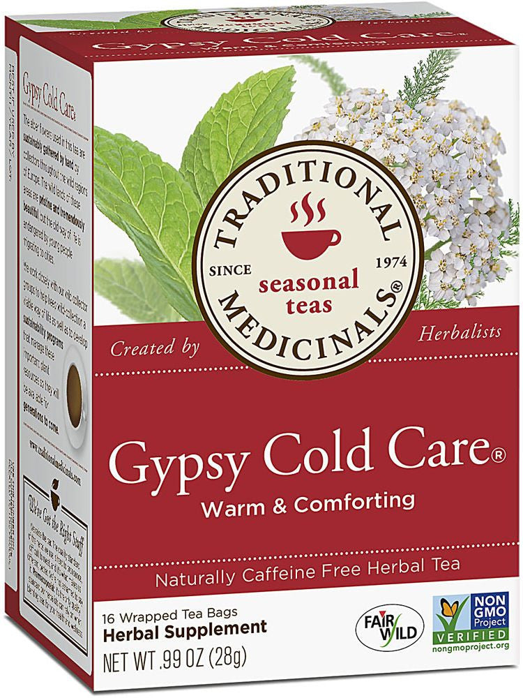 Traditional Medicinals, Gypsy Cold Care Tea, 16 bags