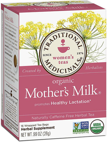 Mother's Milk Tea, 16 bags, Traditional Medicinals