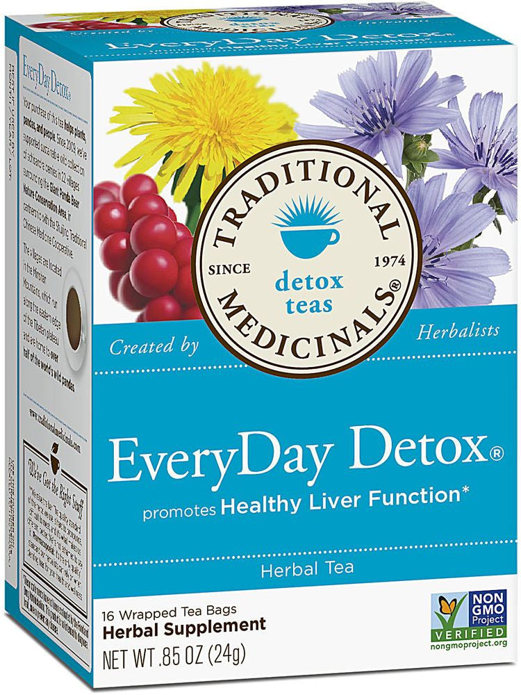Traditional Medicinals, Everyday Detox Tea, 16 bags