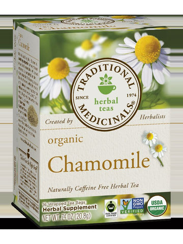 Traditional Medicinals, Organic Chamomile Tea, 16 bags
