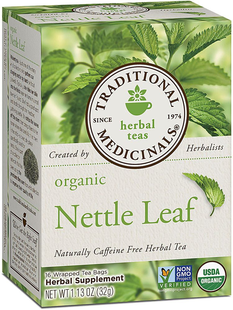 Traditional Medicinals, Organic Nettle Leaf Tea, 16 bags