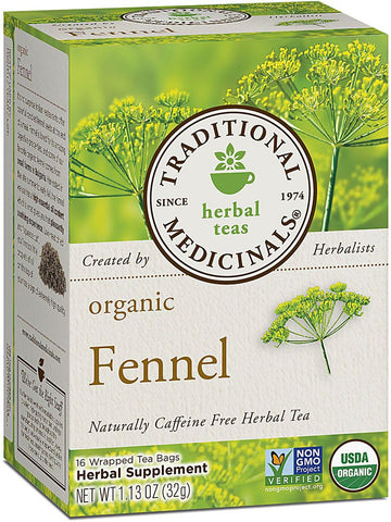 Traditional Medicinals, Fennel Tea, 16 bags
