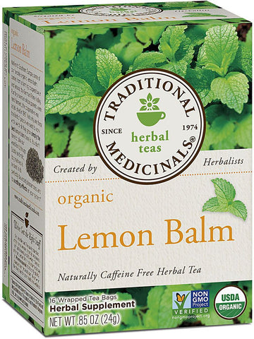 Traditional Medicinals, Lemon Balm Tea, 16 bags