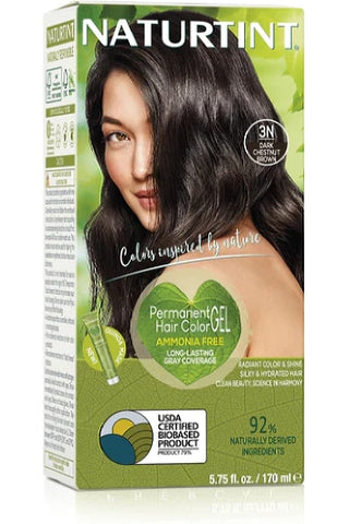 Naturtint Hair Color, Naturtint 3N, Dark Chestnut Brown