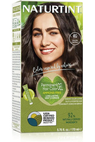 Naturtint Hair Color, Naturtint 4G, Golden Chestnut