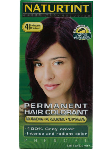 Naturtint Hair Color, Naturtint 4I, Iridescent Chestnut