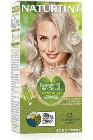 Naturtint Hair Color, Naturtint 10A, Light Ash Blonde