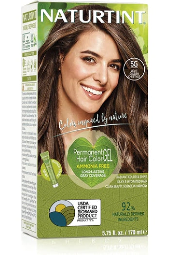 Naturtint Hair Color, Naturtint 5G, Light Golden Chestnut