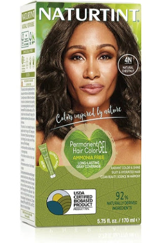 Naturtint Hair Color, Naturtint 4N, Natural Chestnut