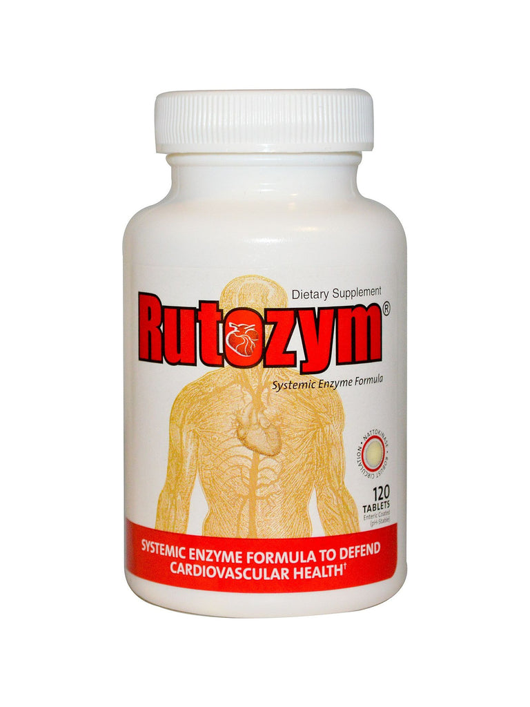 Naturally Vitamins, Rutozym, 120 tabs