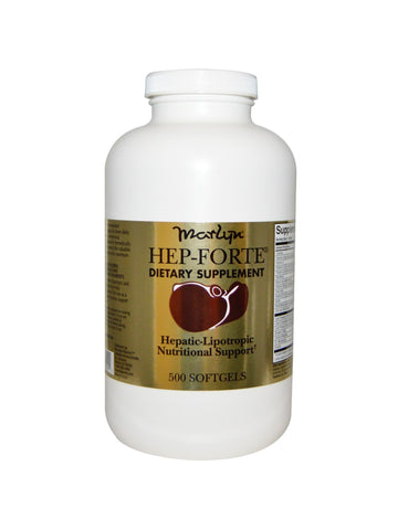 Naturally Vitamins, Hep-Forte, 500 softgels