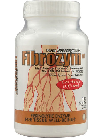 Naturally Vitamins, Fibrozym, 100 tabs