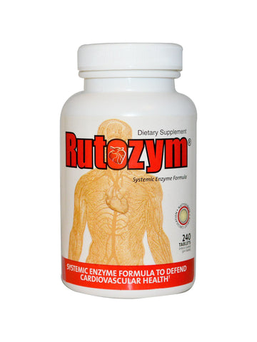 Naturally Vitamins, Rutozym, 240 tabs